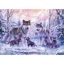 - 1000 Stuks Puzzel Arctische Wolven