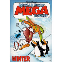 Disney Donald Duck winter mega pocketboek - 352 pagina's