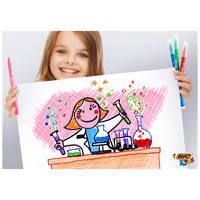 BIC KIDS KID COULEUR VILTSTIFTEN PACK 14