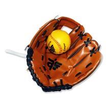 Honkbalschoen en bal
