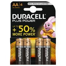Duracell Plus Power AA alkaline batterijen - 4 stuks