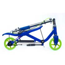 - Space Scooter Junior Blauw-Groen
