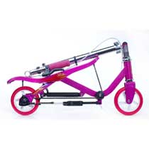 - Space Scooter Junior Roze-Paars