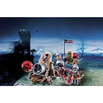 - PLAYMOBIL Knights groot kanon van de Valkenridders 6038