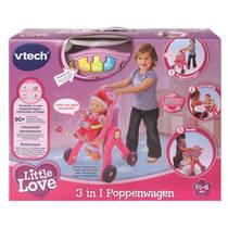 VTECH LITTLE LOVE POPPENWAGEN 3 IN 1