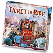 Ticket to Ride Asia - Uitbreiding
