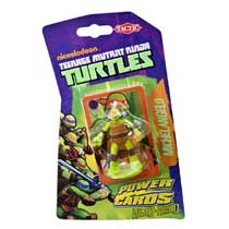 Ninja Turtles Power Cards met Michelangelo figuur