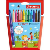 Stabilo Trio Frutti geur viltstiften set van 12