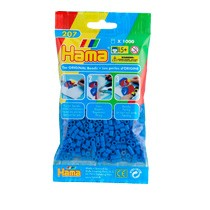 Hama strijkkralen - donker blauw - 1000-delig