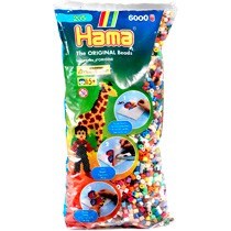 Hama Strijkkralen mix 6000-delig