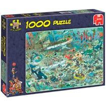 Jumbo Jan van Haasteren puzzel Onder Waterwereld - 1000 stukjes