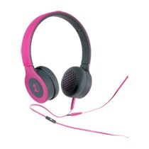 Wonky Monkey on-ear headset - roze