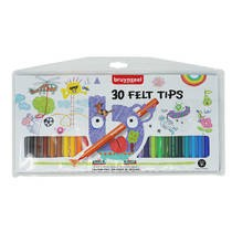 Bruynzeel Felt Tips viltstiften set 30-delig