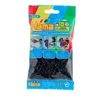 Hama strijkkralen - zwart - 1000-delig