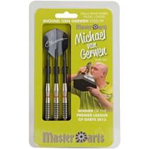 Dartpijlen Michael van Gerwen 20 Gram - zwart