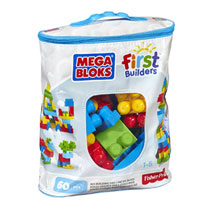 MEGA BLOKS FIRST BUILDERS 60 BLOKKEN