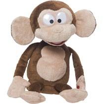 Grappige aap knuffel - bruin