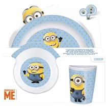 Minions Kinderservies 3-delig