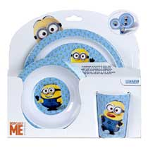 - Minions Kinderservies 3-delig