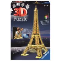Ravensburger 3D-puzzel Eiffeltoren Night Edition - 216 stukjes