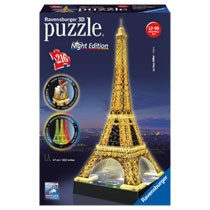 Ravensburger 3D-puzzel Eiffeltoren Night Edition - 216 stukjes