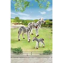 - PLAYMOBIL zebrafamilie 6641
