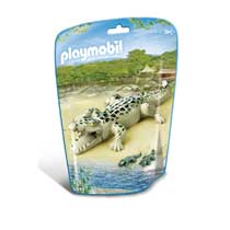 PLAYMOBIL alligator met baby's 6644