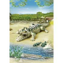 - PLAYMOBIL alligator met baby's 6644