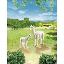 - PLAYMOBIL alpaca met baby 6647