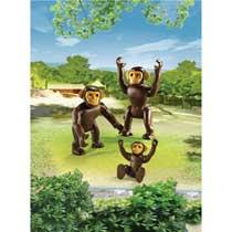 - PLAYMOBIL chimpansees met baby 6650
