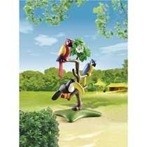 - PLAYMOBIL papegaaien en toekan 6653