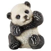Schleich Wild Life spelende baby panda 14734