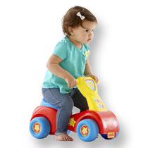 - Fisher-Price loopwagen Lil' Scoot 'n Ride - rood/blauw/geel