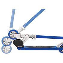 - Razor step - aluminium - blauw
