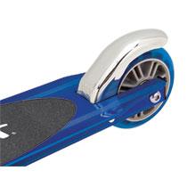 Razor step - aluminium - blauw