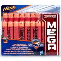- NERF Elite Mega refills - 20 stuks