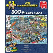Jumbo Jan van Haasteren puzzel Zeehaven - 500 stukjes