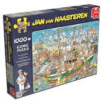 Jumbo Jan van Haasteren puzzel Lang schip chaos - 1000 stukjes
