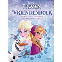 Disney Frozen vriendenboek - multikleur