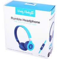 WM FOLDABLE HEADPHONE BLAUW