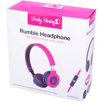 WM FOLDABLE HEADPHONE ROZE