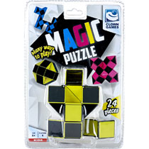 CLOWN MAGIC PUZZLE 3D 24DLG