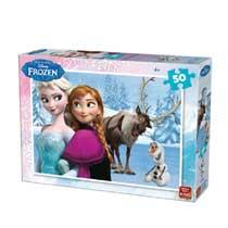 - Disney Frozen puzzel - 50 stukjes