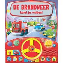 De brandweer komt je redden geluidenboek