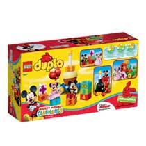 - LEGO DUPLO Mickey & Minnie: verjaardagsoptocht 10597