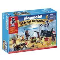 PLAYMOBIL Adventkalender pirateneiland 6625