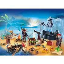 - PLAYMOBIL Christmas Adventskalender Pirateneiland 6625