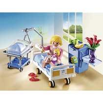 - PLAYMOBIL City Life kraamkamer met babybed 6660