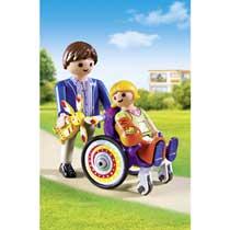 - PLAYMOBIL City Life kind in rolstoel 6663