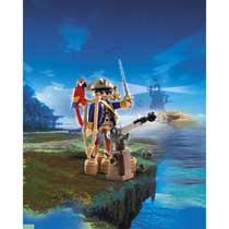 - PLAYMOBIL Pirates Kapitein eenoog 6684